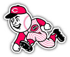 Cincinnati Reds MLB Baseball Man Logo Car Bumper Sticker   - 9'', 12'' or 14'' on Ebay
