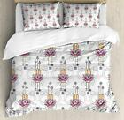 Hand of Fatima Duvet Cover Set Twin Queen King Sizes with Pillow Shams Bedding image