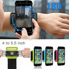 Внешний вид - 180° Rotating Sports Running Jogging Adjustable Wrist Band Bag Case Phone Holder