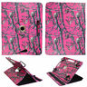Camo PRT For Samsung GalaxyTab A 8 inch  Tablet Syn Leather Case Cover 360 Rotat