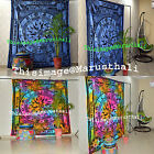 Queen Hippie Tapestry Wall Hanging Indian Mandala Tie Dye Jaipur Print Yoga Mat