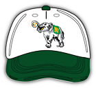 Oakland Athletics MLB Baseball Cap Logo Car Bumper Sticker - 9'', 12'' or 14'' on Ebay