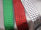 bows decoration - Metallic Disco Ribbon, Mirror Ribbon, Christmas Decorations, Cheer Bows, 3 YARDS