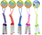 Jump Ropes with Holographic Handles for Children, Ages 6+ 7-ft. *YOU CHOOSE* F/S image