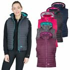 Trespass Aretha Womens Lightly Padded Gilet with Detachable Hood