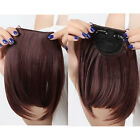 US One Piece Neat Side Bang Fringes Bangs Clip in Hair Extensions as Human TBD34