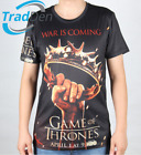 New Hot Fashion Black 3D Ring Game Of Thrones T-Shirt Men Women Size Full Print