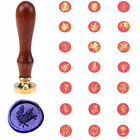 Внешний вид - Sealing Wax Stamp Invitations Greetings Wedding Flower Brass Seal Wax Stamp