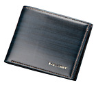 Genuine Leather Mens Bifold 3 ID's multi Card Double Center Flap Popular Wallet