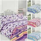 New 2018 Blossom Floral Print Duvet Cover Set Pillowcase Bedding Quilt Bed Size