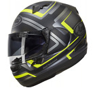 ARAI QV Charged Motorcycle Sport Helmet In Yellow