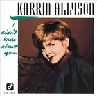 KARRIN ALLYSON: I Didn't Know About You CONCORD Jazz Vocals CD
