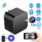 Spy Hidden Camera Wireless USB Charger Night Vision Security 32G 1080P Lot HO