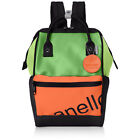Anello Japan 3D Contrast Clashing Colors Backpack Campus Rucksack Tote Bag A4 OK