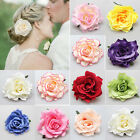 Artificial Rose Flower Hair Clip Pin Hairpin Corsage Brooch