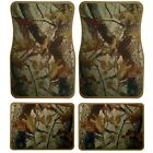 Universal set (4pcs) car floor mats rubber with realtree camouflage design 87