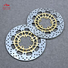 For Triumph Street Triple 675/R 07-09 Motorcycle Floating Front Brake Disc Rotor $164.48 USD on eBay