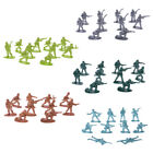 10pcs Military Army Men Plastic Soldiers Figures Model Toy For Children Kid Boys