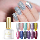 BORN PRETTY Glitter UV Gel Nail Polish Sequins Bling Soak Of