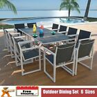 Outdoor Dining Set 5/7/9/11/13 Pieces Garden Setting Furniture Outdoor Patio Uk