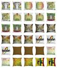 Rasta Throw Pillow Cases Cushion Covers Home Decor 8 Sizes Ambesonne