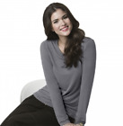 Wonder Wink Nurse Silky Long Sleeve Layer Tee 2009 >NEW< ~Free Same Day Shipping