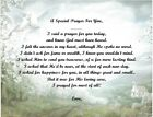 A Special Prayer For You Personalized Poem Gift #1 (For Papa thru Wife)
