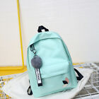 Women's BackPack Candy Student School Bag For Teenagers Girls Hanger Fur Ball