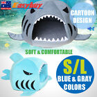 AU Washable Shark Mouth Pet House Warm Indoor Kitten Dog Cat Puppy Sofa S/L Gift