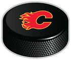 "Calgary Flames Letter NHL Logo Hockey Puck Car Bumper Sticker - 9'',12"" or 14'' $11.99 USD on eBay"
