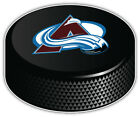 Colorado Avalanche Letter NHL Logo Hockey Puck Bumper Sticker -9'', 12'' or 14'' $11.99 USD on eBay