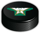 Dallas Stars White Shirt NHL Logo Hockey Puck Car Bumper Sticker-9'',12''or 14'' $13.99 USD on eBay