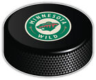 Minnesota Wild Round NHL Logo Hockey Puck Car Bumper Sticker - 9'', 12'' or 14'' $12.99 USD on eBay