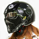 Black Star Wars Motorcycle Helmet Masei Open Face Half Helmet Motocross Quality $119.98 USD on eBay