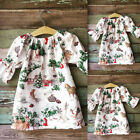 Toddler Baby Girls Kids Winter Princess Christmas Dress Party Dresses Outfits
