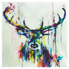 US Animal Pattern Abstract Wall Oil Painting Canvas Office Decor Hand-painted C