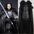 Game of Thrones Jon Snow Cosplay Halloween Fancy Party Mens Costume Outfit New