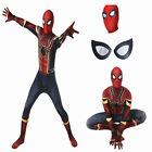 US Ship! Mask Cosplay Fullset Avengers Infinity War with Spider-Man Costume Suit