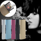 USB Charge Lighter USB Windproof Personality Electric Cigarette Lighter LOT RS