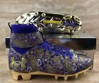 Under Armour  C1N Paisley MC Football Cleats Limited Edition Gold Purple