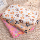 3-Size Warm Pet Mat Paw Pattern Cat Kitty Dog Puppy Soft Bed Blanket Accessory