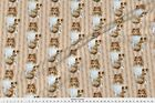 Shelty Shetland Sheepdog Dog Floral Fabric Printed by Spoonflower BTY image