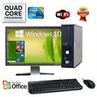 CLEARANCE Fast Dell Desktop Computer PC QUAD CORE WIN 7 10 4 8GB RAM