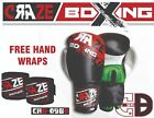 Boxing Gloves Men PU Leather MMA May Thai Combat Fighting Training Hand Wrap UFC