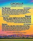 Coachella Music Festival Tickets | Indio, CA | Weekend Two - General Admission