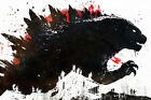 "Godzilla Movie 36"" x 24"" Large Wall Poster Print Decor Gift"