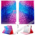 For 7 101 Tablet PC Rainbow Sand Universal Pattern Leather Case Cover Stand