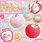 Japan Realistic Fruit Peeled Apple Rainbow Squishy Soft Squeeze Toy Stress Ball