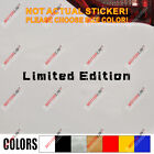 Limited Edition Decal Sticker Car Vinyl Racing Sport JDM pick size color b