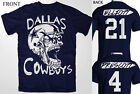 DALLAS COWBOYS HALLOWEEN  FOOTBALL ZOMBIE T SHIRT